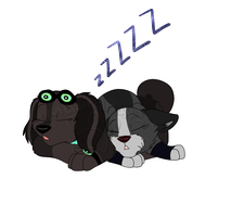 CM: Let sleeping pups lie by Musicalmutt2