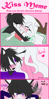Kiss Meme - Kishight (Kishiro x Whitelight) by WhiteLight24