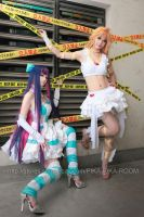 Angel Panty and Stocking by PIKAPIKAROOM