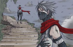 Kakashi itachi color by synyster-gates-A7X