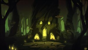 SpeedPaint 44 - Sacred Place by Vexod14