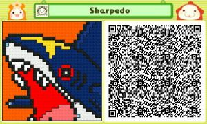 Sharpedo Pushmo by Ability-King-KK