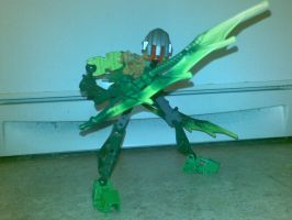 BIONICLE CREATON 2: Heronio by blase005
