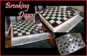 Breaking Dawn Cake by Kawaii-Chibi-Freaks