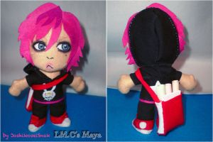 Commission: LMC Maya plush by JoshikoseiSnak