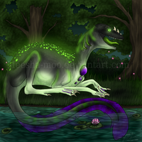 Down By The Swamp by Meesha-Moo