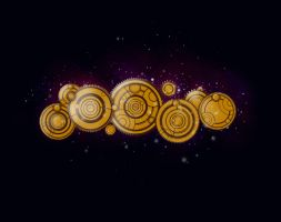 Gallifreyan Steampunk by violinsane