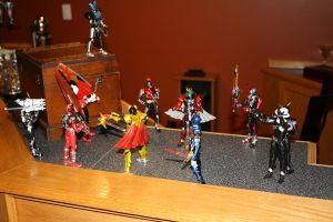 10 Riders and 1 Sentai by ProfessM