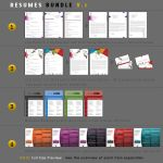 Resumes Bundle V1  Preview by kh2838