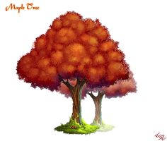 Maple Tree by ArtByElde