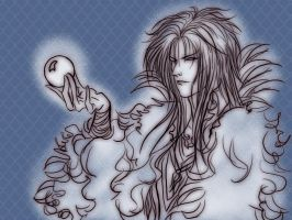 Jareth fast sketch by Calaverita