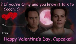 If You're Orny And You Know It V-day Card by LightninBluEyes