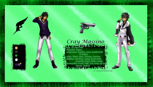 Cray Massino Reference by Cashewdee
