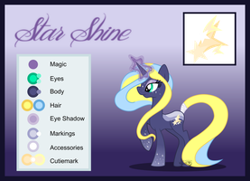 Starshine ref by lekadema