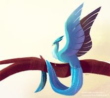 #144 Articuno by kiki-doodle