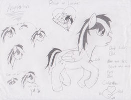 Pony Oc Ref Sheet - AngelaHeart by Im-Albert-Wesker