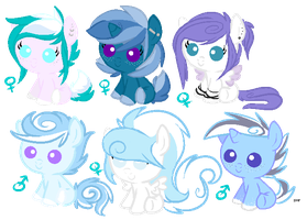 Cloudchaser x Star Hunter Adopts by FlSHES