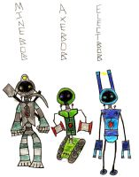BOB-bots upgrades by UGR by Robot-drawing-club
