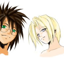 Harry and Draco GB Style by LingLKS