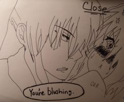 Your Blush Is Showing by albertxlailaxx