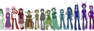 homestucks dolls by saofish
