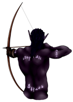 Backside of an Archer by AnihyrMoonstar