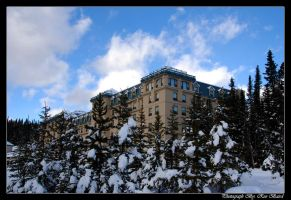 Chateau Lake Louise wing by VortXxe