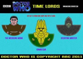 Doctor Who - Time Lords by mikedaws