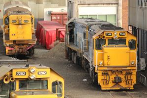 Loco Stabling by agreenbattery