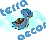 Terra Aecor - Lapras x Turtwig by haha-tommy