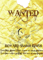 Contest Entry : Wanted Poster - Silver by vaness96