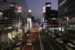 Downtown Yokohama, Japan. Nighttime photo. by JAFNOVA