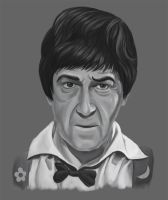 the Second Doctor by Resident-Bishounen