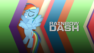 Rainbow Dash - Chevron Speed (Wallpaper) by AdrianImpalaMata