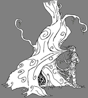 Daughter of the Trees - Inked by Virapets