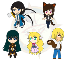 Assorted Chibis - Set 17 by Dragon-FangX