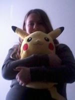 Me + Pikachu by EspeonUmbreonLover