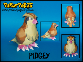 Pidgey Papercraft by Skeleman