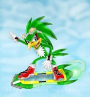 Sonic Riders I: Jet by ShadowWeatherGhoul10