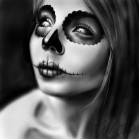 Sugar Skull by superrgeek