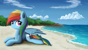 Beach holiday by Ailynd
