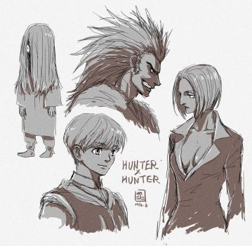 HxH: Gone Legs (spoiler) by mick347