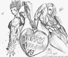Be our Valentine by hydek