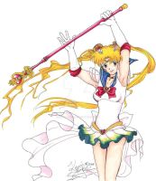 Sailor Moon by Kerrie-Jenkins