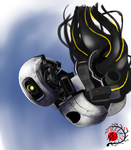GlaDOS Speed Paint by Manasurge