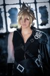 Cloud Strife Cosplay: Before the dark by YamiNoShadow