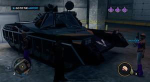 Kankan with Crusader tank _ Saint's Row the 3rd by K4nK4n