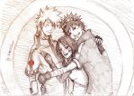 just the three of us by Sanzo-Sinclaire