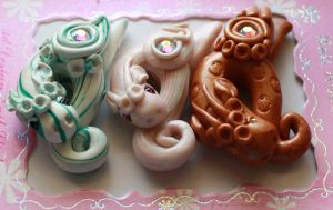 Polymer Clay Beads 94 by snowskin