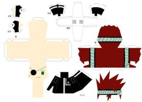 Lavi Papercraft Doll by sparrowhawk51